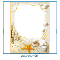 abstract photo frames 400
