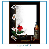 abstract photo frames 725