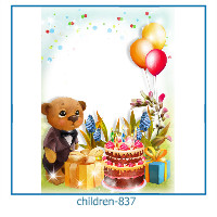 kids photo frame 837