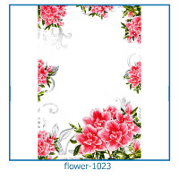 flower photo frames 1023
