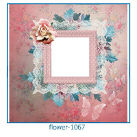 Flower Photo frame 1067