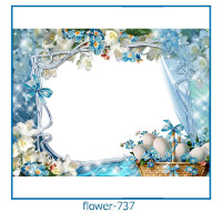 flower photo frames 737