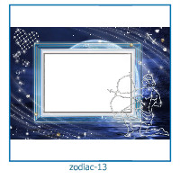 zodiac photo frames 13