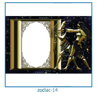 zodiac photo frames 14
